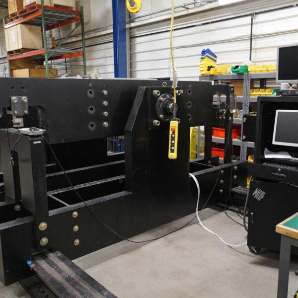 10000 inch pound torque test stand